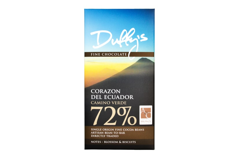 Corazon del Ecuador 'Camino Verde' 72%