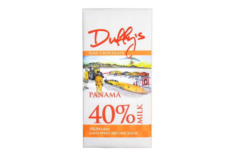 Panama Tierra Oscura 40% Milk Chocolate