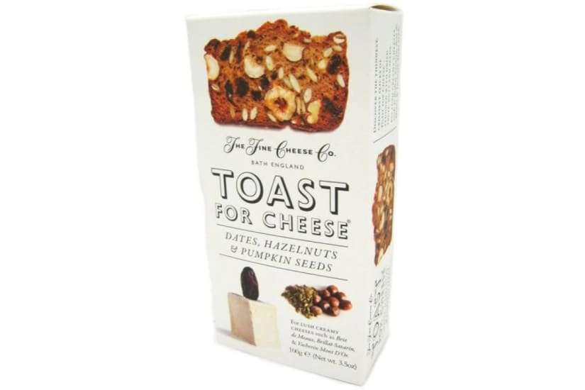 Toast For Cheese Dates,Hazelnuts And Pumpkin Seeds