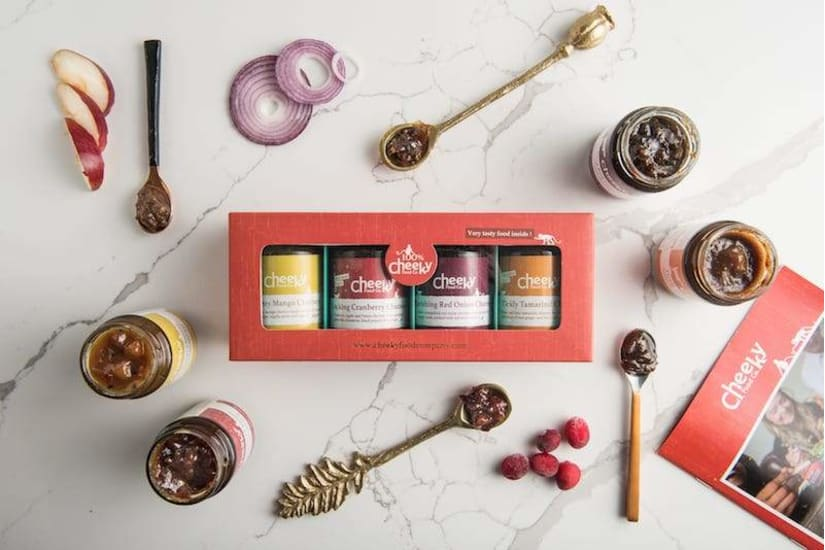 Indian Chutney Gift Set
