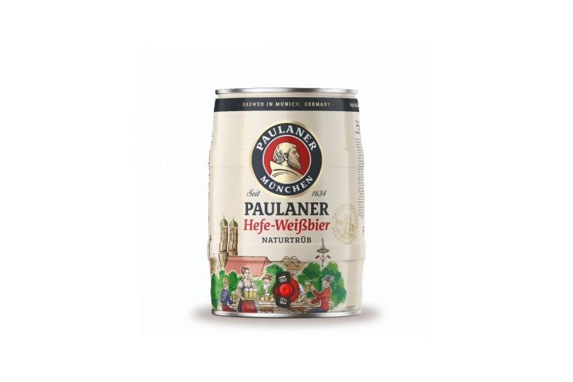 Paulaner Hefe-Weizen Mini Keg