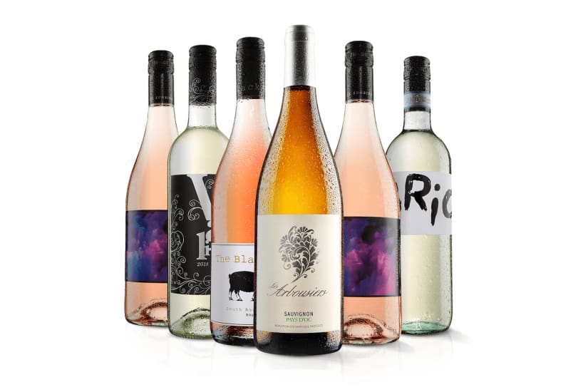 Must Have White Wine and Rose Six Pack