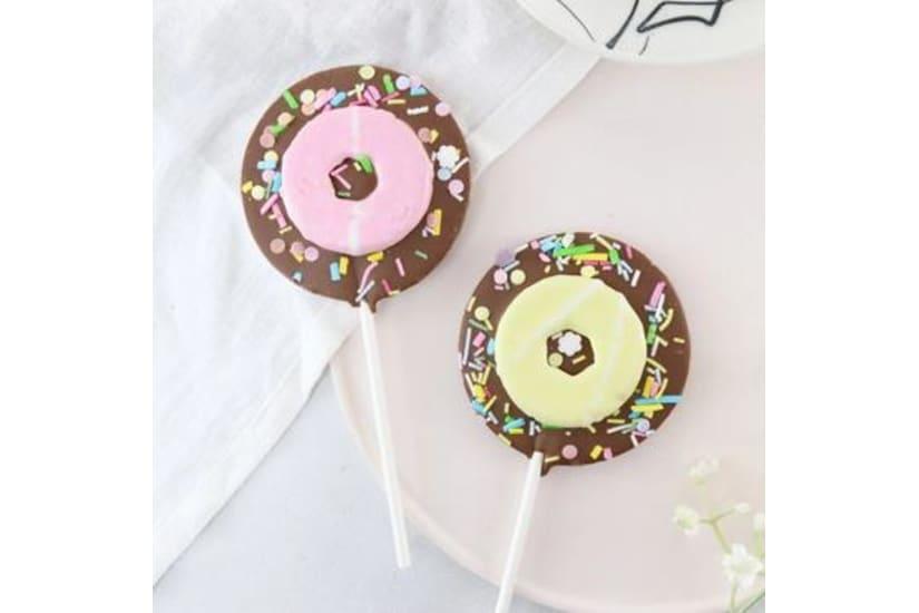 Milk Chocolate Party Ring Lollipop