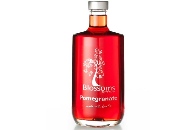 Blossoms Pomegranate Syrup