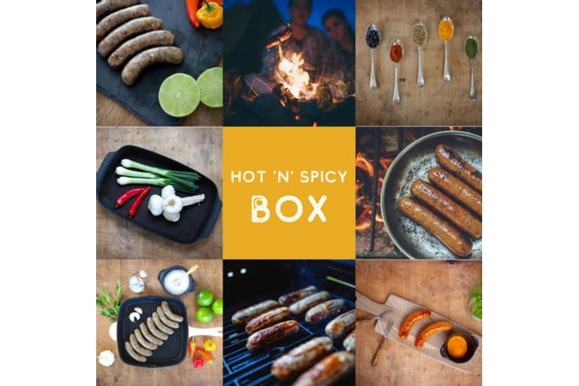 Hot and Spicy Sausage Meat Box