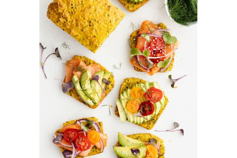Turmeric & Hemp Bread