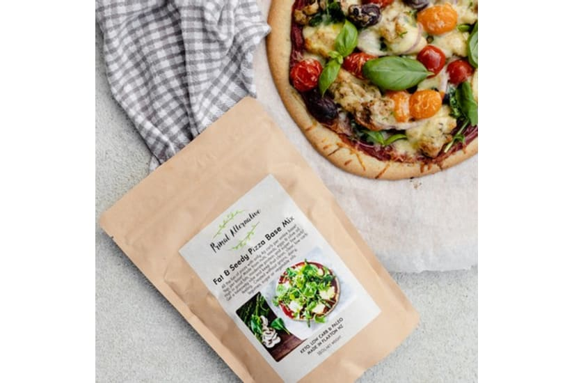 Low-carb Pizza Mix | Fat and Seedy Pizza