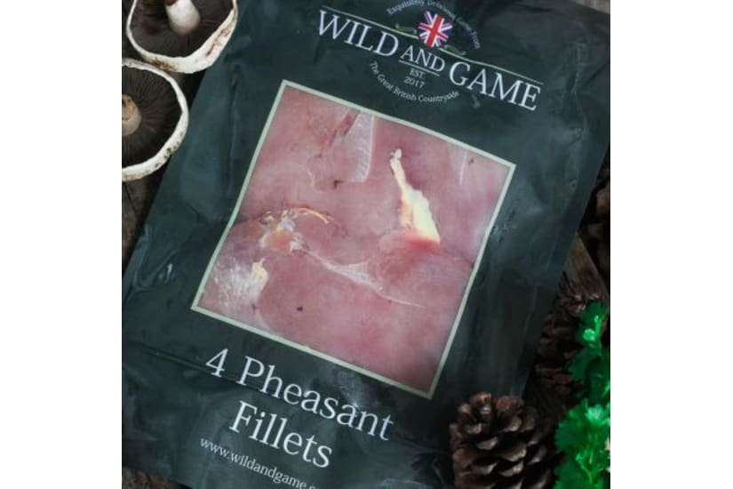 Pheasant Breast Fillets - Pack of 4