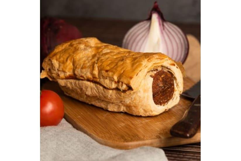 Venison & Pheasant Sausage Roll