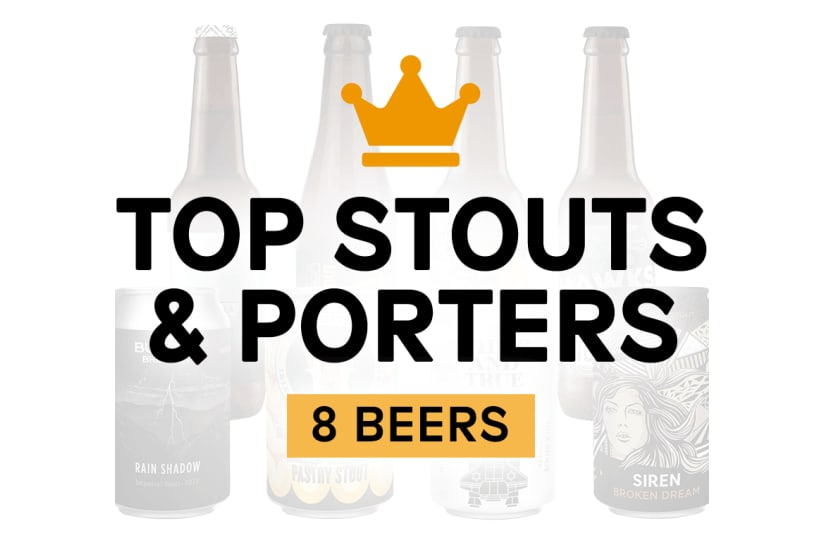 Top Stouts & Porters (8 Pack)
