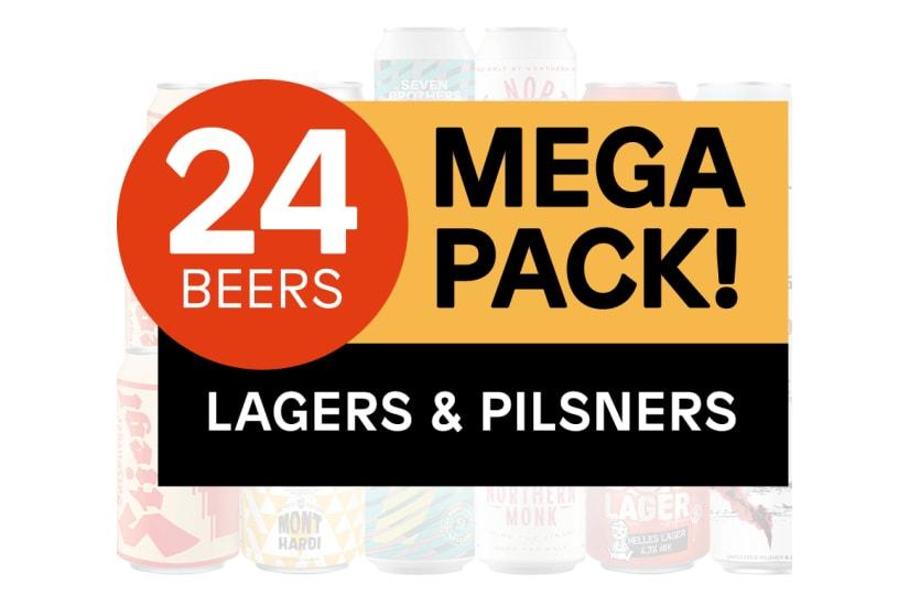 Lager & Pilsner Mega Pack