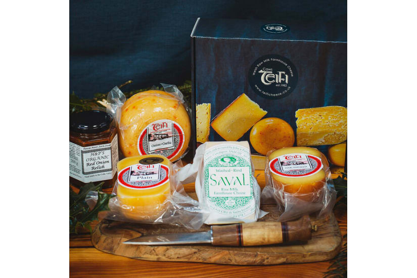 Teifi Four Cheese Gift Box