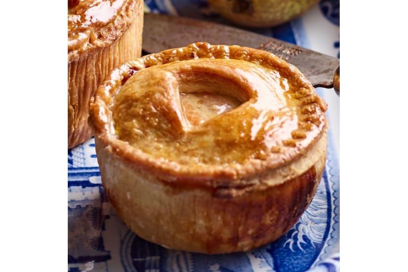 Pork, Pheasant & Caramelised Onion Small Pie