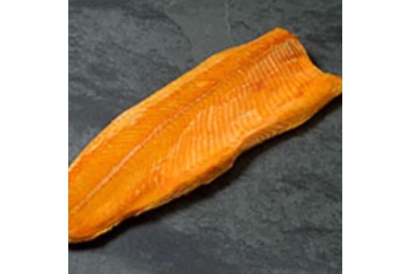 Hot Roast Whole Smoked Salmon