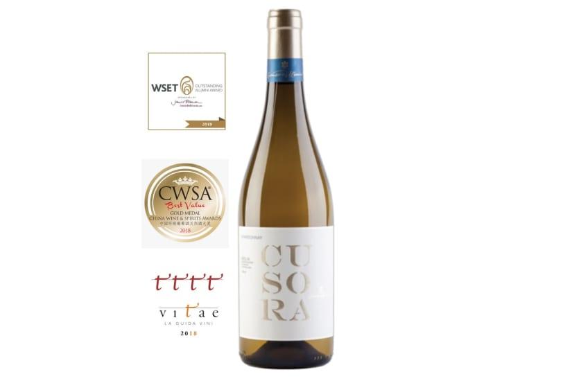 APERITIF WINE: CUSORA CHARDONNAY DOC SICILIA