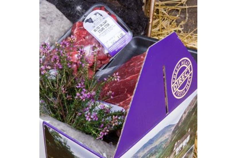 Belted Galloway Beef Meat Box