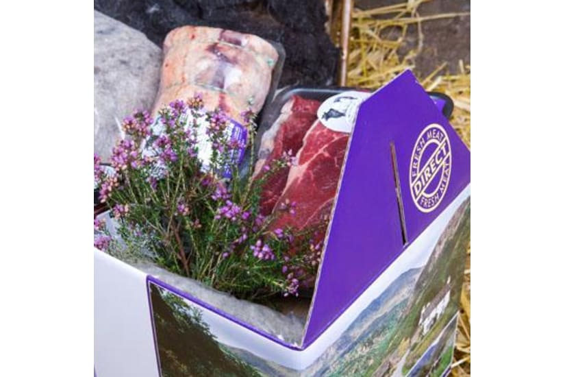 Belted Galloway Beef & Herdwick Hogget Taster Meat Box