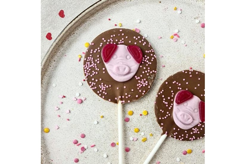 Pig Lollipop
