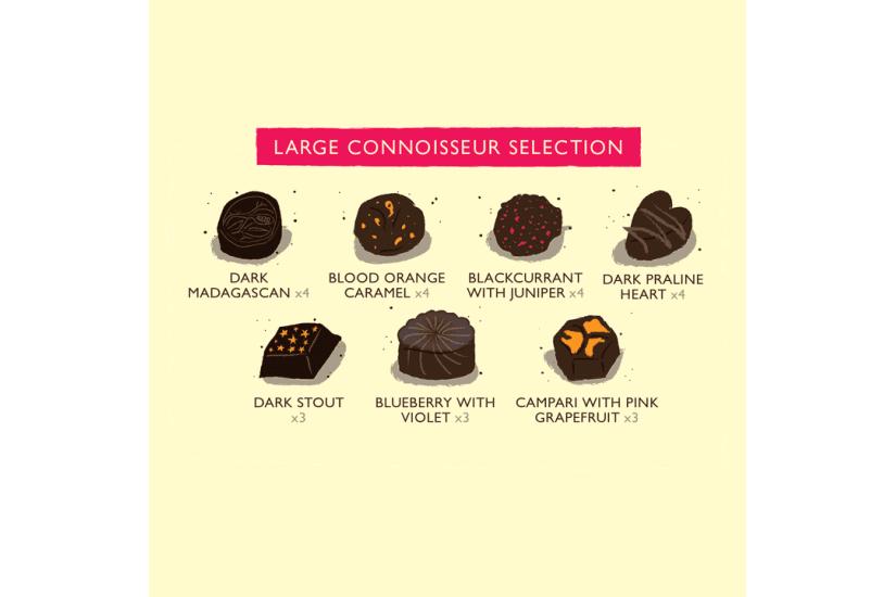 Connoisseur Selection Large Chocolate Box