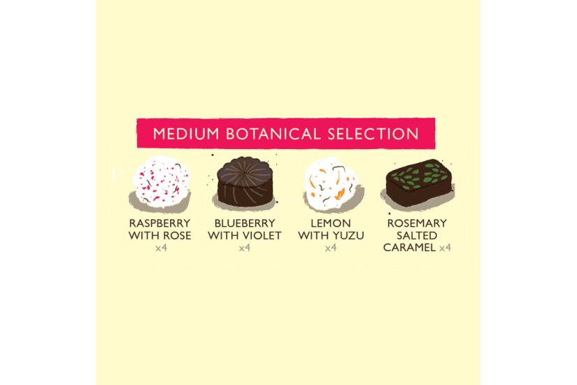 Botanical Selection Medium Chocolate Box