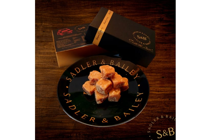Deluxe Duo Gift Box - Salted Caramel and Chocolate Truffle Fudge