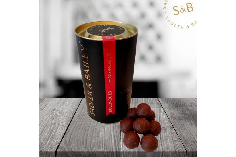Luxury Truffle Gift Tube - Smooth Milk Truffles