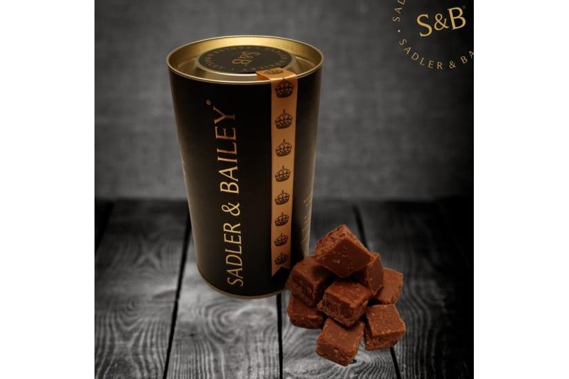 Luxury Chocolate Truffle Fudge Gift Tube
