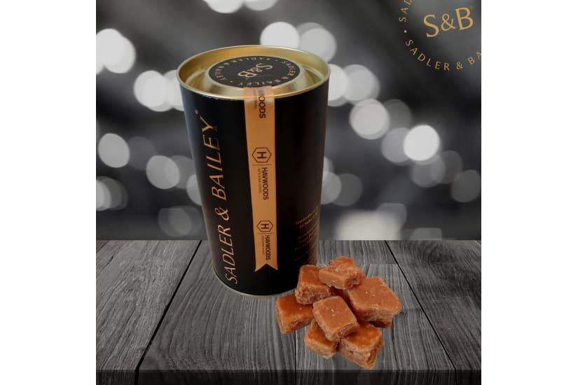 Luxury Salted Caramel Fudge Gift Tube