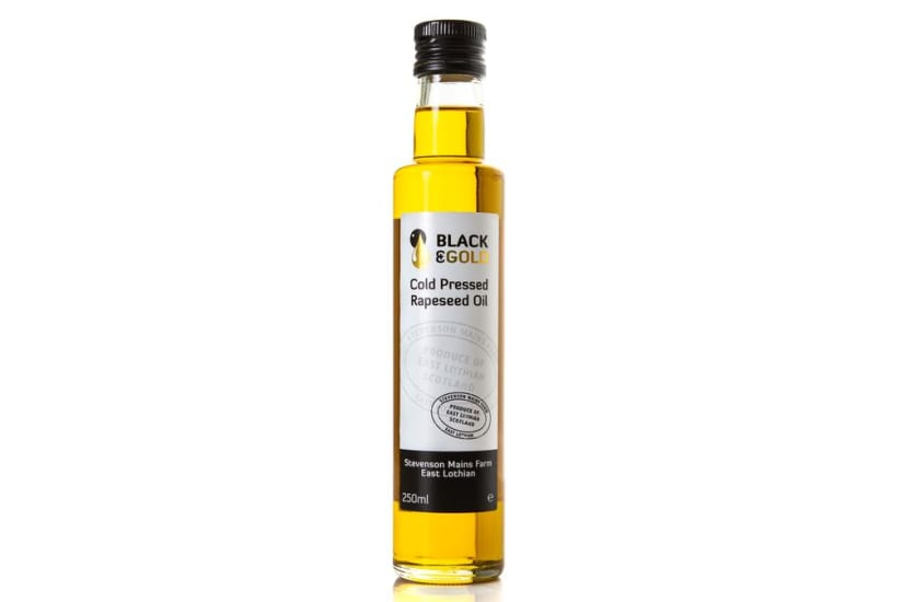 Black & Gold Cold Pressed Rapeseed Oil