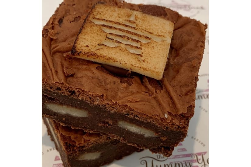 Marzipan Brownie