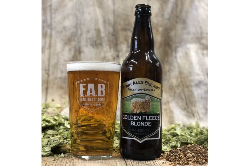 12 x Golden Fleece Blonde - Gold Award winner SIBA East 2018