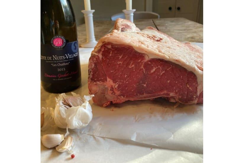 Longhorn Beef Sirloin Joint on the Bone