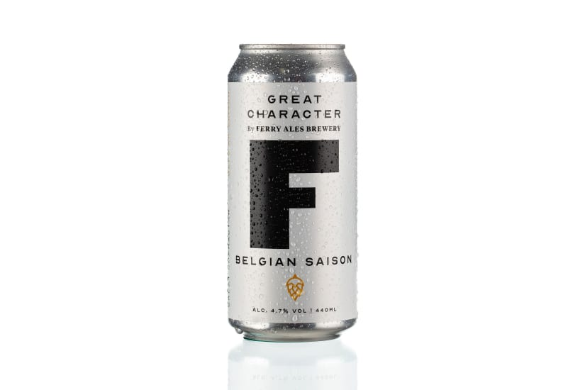 """Great Character """"F"""" Belgian Saison Case 12 x 440ml cans"""