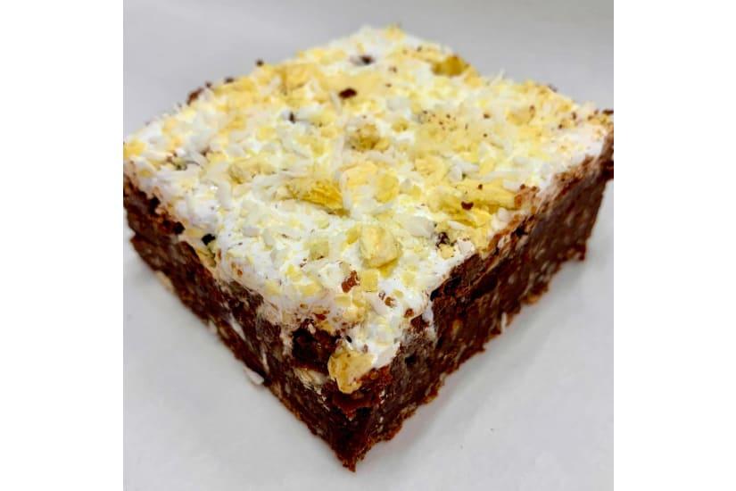 Pina Colada Brownie