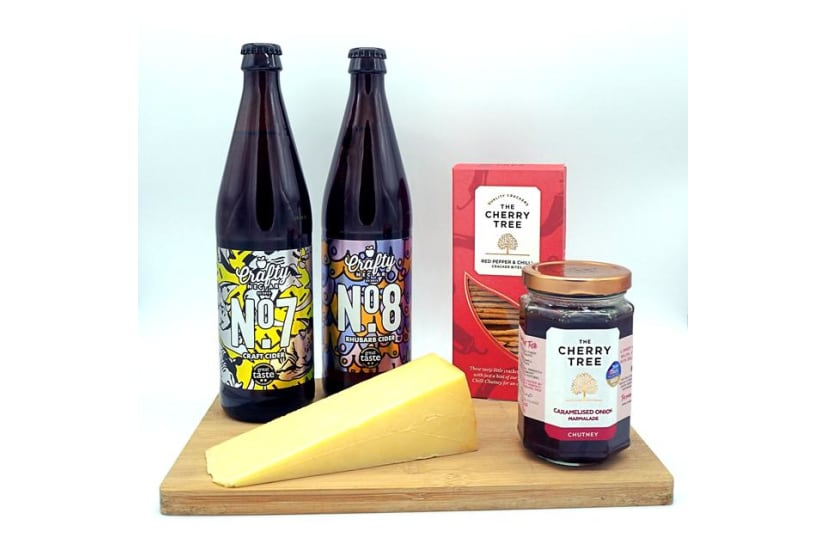 Crafty Nectar's Cider and Cheese Box