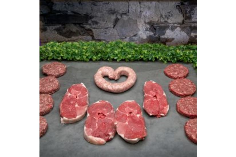4 Person BBQ Quick Cook Meat Box