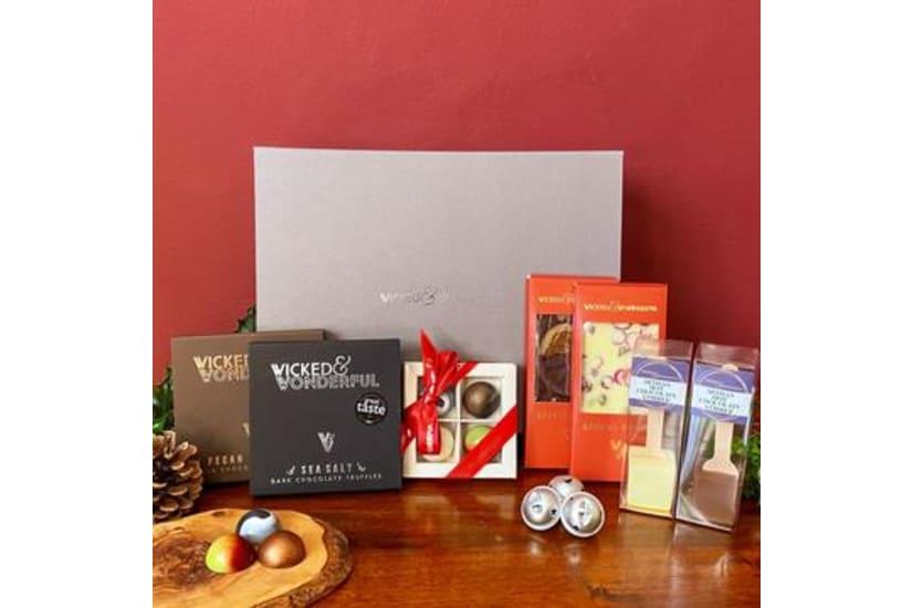 Luxury Christmas Chocolate Gift Hamper