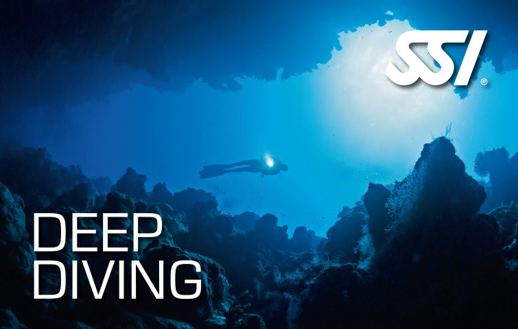 Advanced Scuba Training Deep Diving Plan your dive and dive down to 40 meters