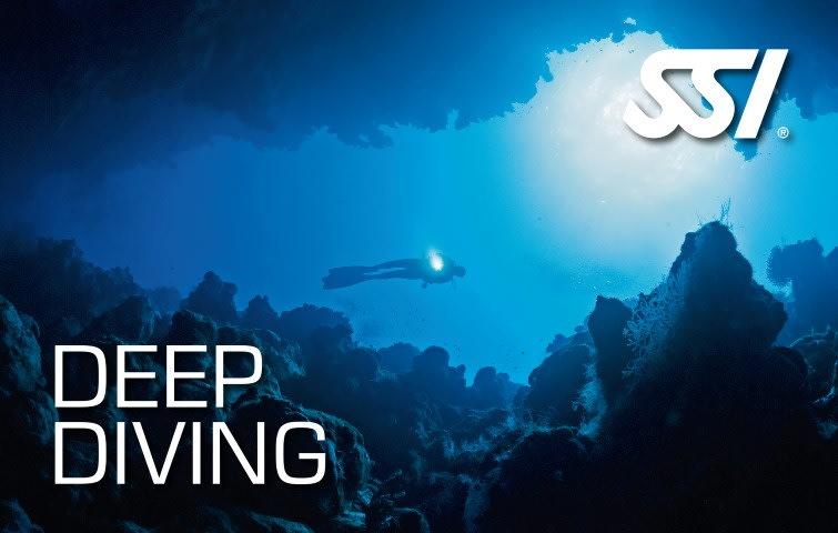 продолжить обучение Advanced Scuba Training Deep Diving