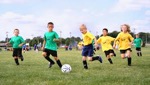 children who play sports