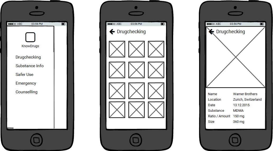 Wireframes are the basis for taking the design further and exploring UI elements and features