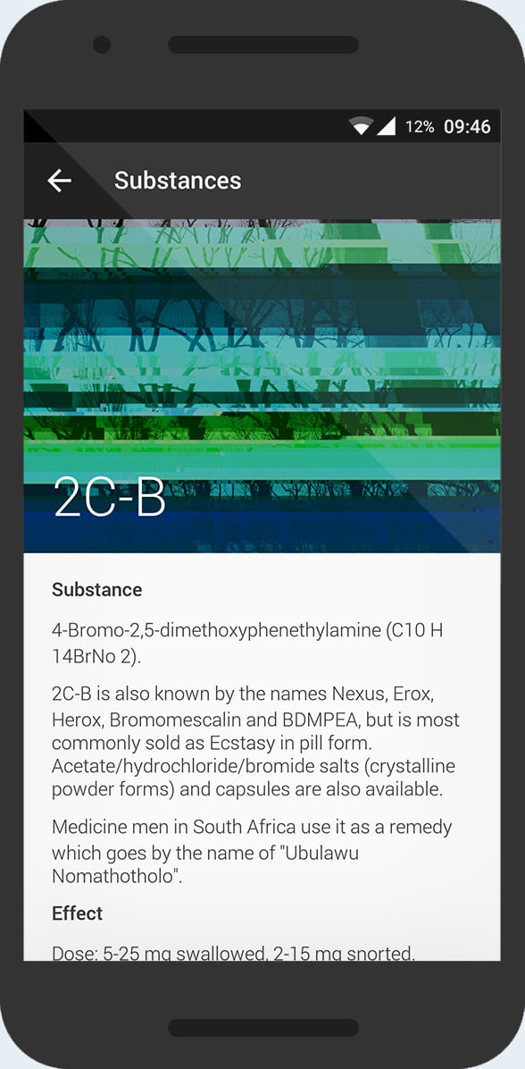 KnowDrugs - substance info 2c-b