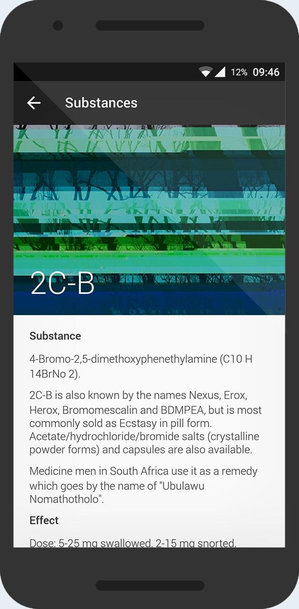KnowDrugs - substance info 2c-b