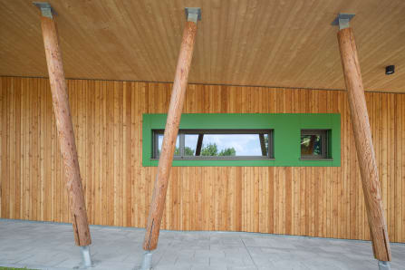 Fassade Eingangsbereich