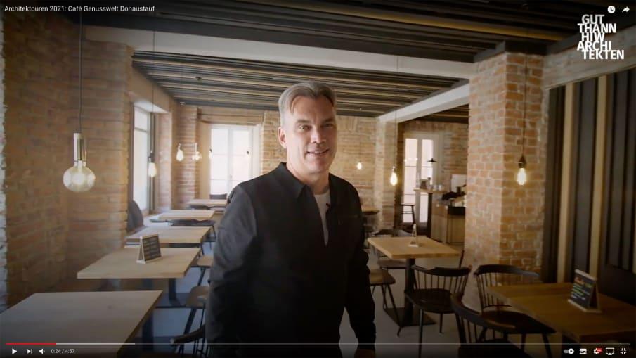 Projektvideo Café Genusswelt Donaustauf