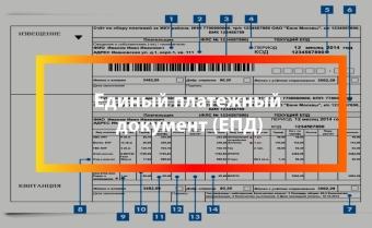 Как выглядит единый платежный документ за услуги ЖКХ и как его получить?