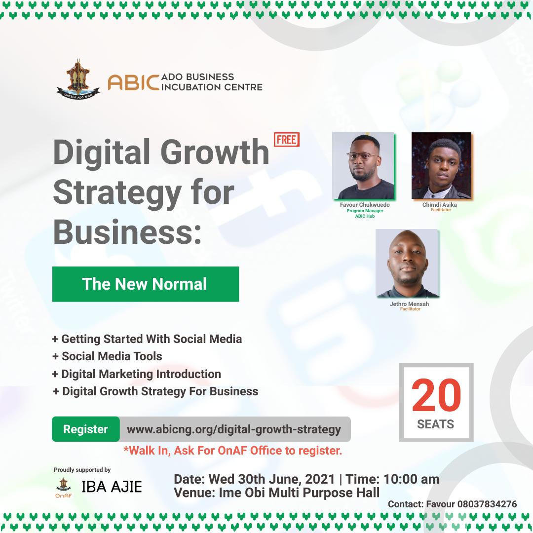 Digital Growth Strategy