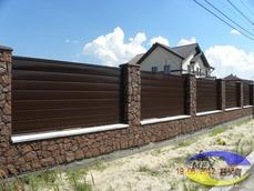 Виды заборов для коттеджного городка - imgonline com ua Resize WoZ9fpfz67 bejupc - Забор для коттеджного городка