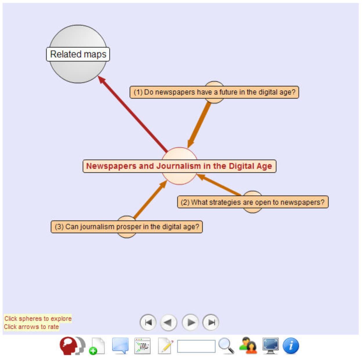 DebateGraph Screenshot