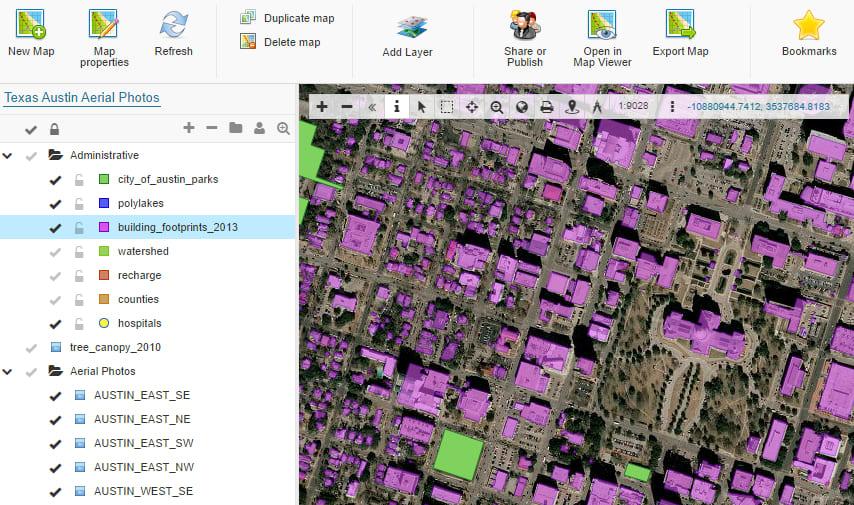 GISCloud Screenshot